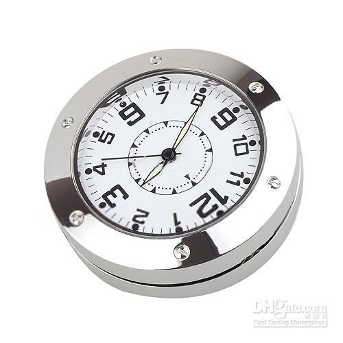 ساعت رومیزی دوربیندار Spy Clock DVR – ساعت رومیزی استیل مجهز به دوربین Full HD
