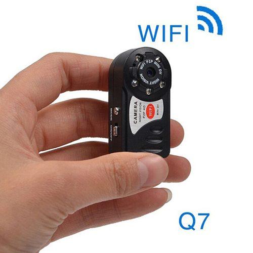 دوربین بیسیم مینی دیوی Q7 – کوچکترین دوربین Full HD جهان - Q7 WiFi mini DV