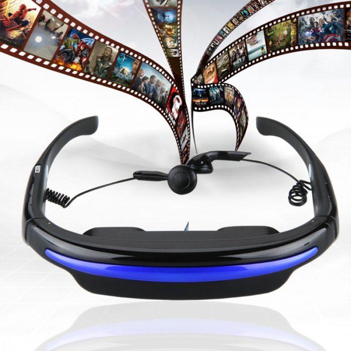 عینک پخش فیلم خصوصی با صفحه نمایش مجازی ۵۲ اینچی
