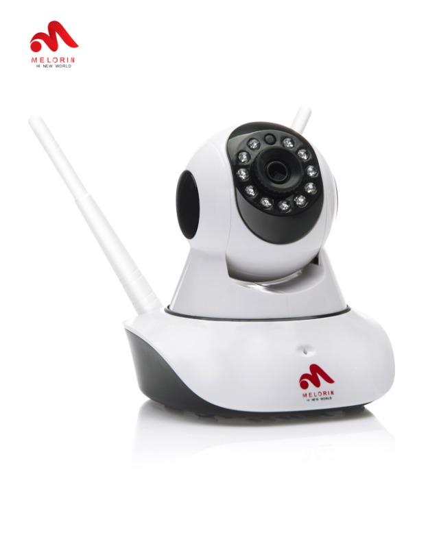 دوربین انتقال تصویر دید در شب چرخشی و دزدگیر وای فای با قابلیت انتقال تصویر بر روی گوشی های هوشمند با نرم افزار مخصوص با پشتیبانی از حافظهی خارجی و بدون نیاز به پیکربندی. فروشگاه دوبال