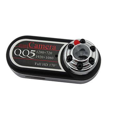 بهترین دوربین فیلم برداری دوربین Full HD دوربین مخفی Full HD مدل QQ5 دوربین مینی دی وی Full HD مدل QQ5 دوربین کوچک Full HD قیمت دوربین مخفی Full HD مدل QQ5 کوچک ترین دوربین مینی دی وی