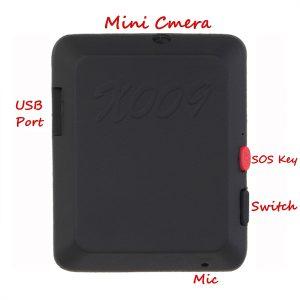 دستگاه شنود دوربین دار X009 قابلیت عکاسی و فیلمبرداری با کیفیت بالا و ضبط صدا تا شعاع ۱۰ متری را دارد و مجهز به سنسور حساس به حرکت است.