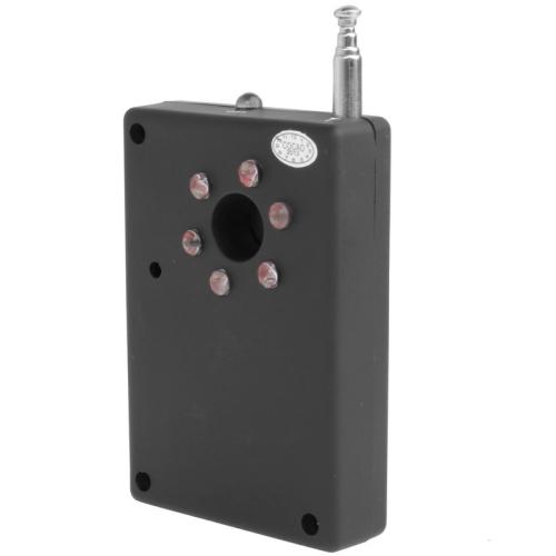 دستگاه فرکانس یاب و دوربین یاب حرفهای با قابلیت تشخیص ابزار های جاسوسی مانند دوربین های مخفی و ردیاب ها و شند ها در محیط خانه یا محل کار با قابلیت تنظیم حساسیت برای تشخیص امواج و پشتیبانی از باتری لیتیومی با شارژدهی سه روزه و حمل آسان. فروشگاه اینترنتی دوبال