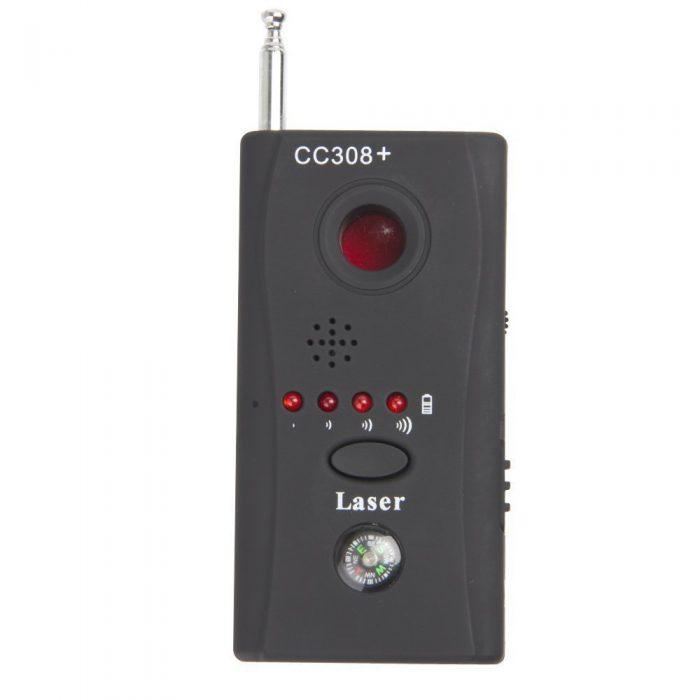 دستگاه دوربین یاب و فرکانس یاب +Cc308 یک وسیله عالی برای ردیابی انواع فرکانس های موبایلی و لنز دوربین های مخفی مزاحم در محل کار یا خانه میباشد که قابلیت ردیابی فرکانس های رادیویی از 1 تا 6.5 گیگاهرتز را دارد. دستگاه فرکانس یاب بیسیم +Cc308 قابلیت 360 ساعت کاکرد مداوم با هربار شارژ کامل را نیز دارد. فروشگاه دوبال