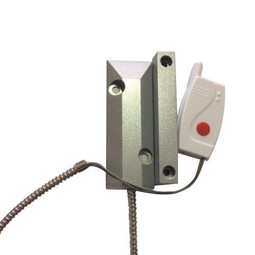 سنسور درب مگنتی مدل آهنی بدون نیاز به کابل کشی و قابلیت اتصال به دوربین های مداربسته و هوشمند برای ذخیره اطلاعات و ارسال هشدار های به صورت بیسیم به تلفن های همراه. فروشگاه دوبال