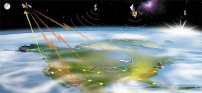 ماهواره ردیابی WAAS ماهواره ردیاب مکان یاب